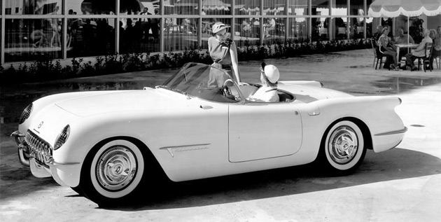 On show will be the world's first Corvette – the 1953 Corvette EX122 concept