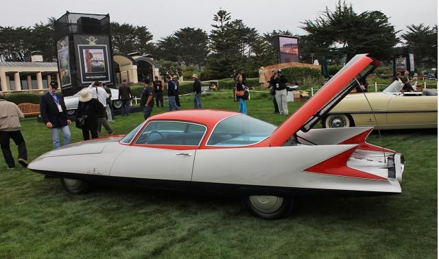 "1955 Ghia Streamline X ""Gilda"" 2 Door Fastback Coupe"