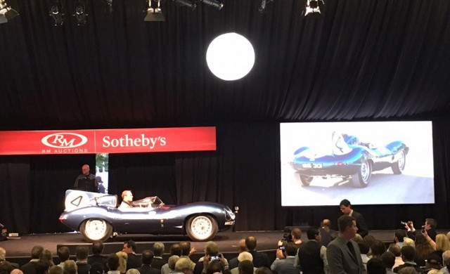1955 Jaguar D-Type bearing chassis number XKD 501 - Image via RM Sotheby's