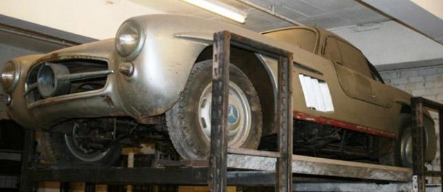 1957 Mercedes-Benz 300SL found in British estate sale