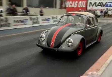 1959 Volkswagen Beetle electric conversion on Rods N' Wheels.