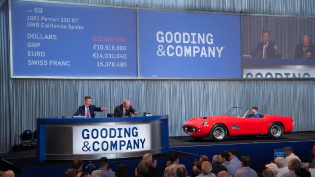 1961 Ferrari 250 GT SWB California Spyder, 2016 Amelia Island Concours d'Elegance