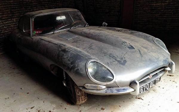 1964 Jaguar E Type Barn Find For Sale In France
