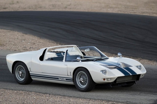 1965 Ford GT40 roadster prototype - Image via RM Auctions