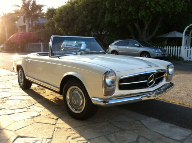 1965 Mercedes-Benz SL electric car conversion [Images: eBay listing]