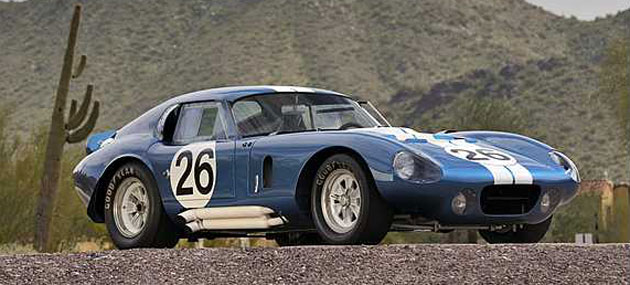 1965 Shelby Daytona Coupe Sells For Record $7.25 Million