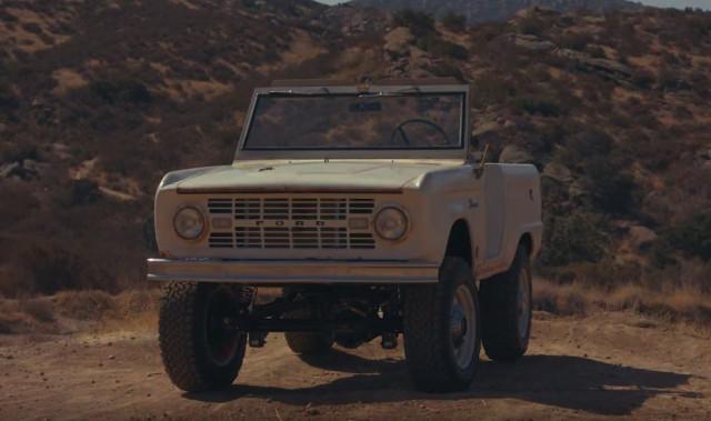 1966 Ford Bronco Icon Derelict