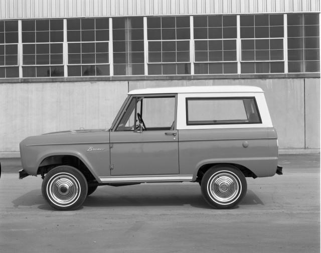 1966 Ford Bronco wagon