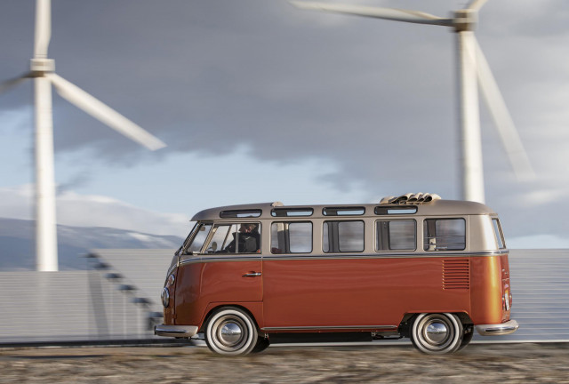 1966 Volkswagen Samba Bus with EV conversion from eClassics