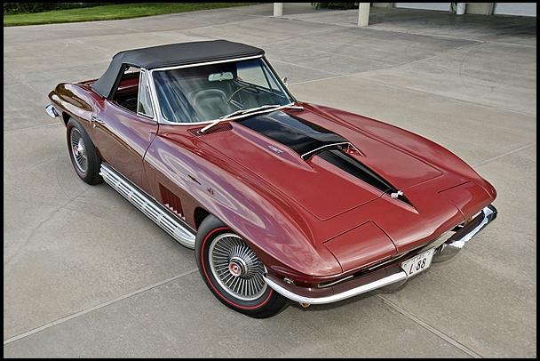 1967 chevrolet corvette l88 mecum