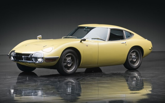 1967 Toyota 2000 GT, from Don Davis Collection, sold at auction for $1.15 million by RM Auctions
