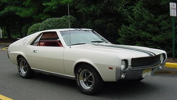 AMC AMX equipped with Go Package. Photo by Christopher Ziemnowicz