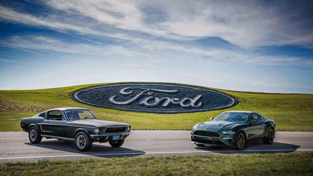 1968 Ford Mustang from Bullitt and 2018 Ford Mustang Bullitt