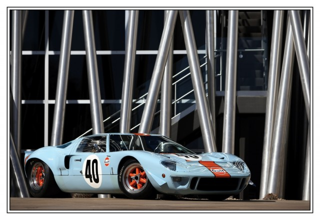 1968 Gulf/Mirage Lightweight Racing Car. Photo courtesy RM Auctions.