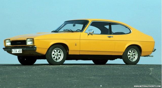 Sports Car Classics The 1970 78 Mercury Capri