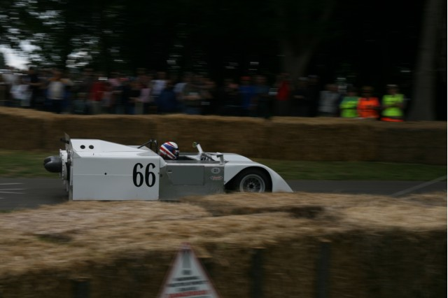 Chaparral 2J at the Goodwood Festival of Speed by Hugh Lunnon