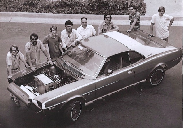 1970 Clean Air Car Race UCSD AMC Javelin steam car via Ray Salemme