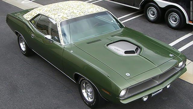 One Off Hemi Cuda Worth 1 4 Million Stolen