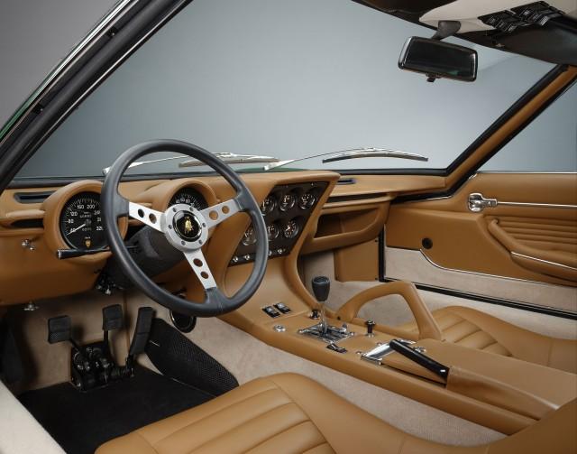 1971 Lamborghini Miura SV pre-production restored by Polo Storico