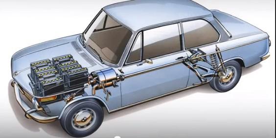 1972 BMW Electric 1602