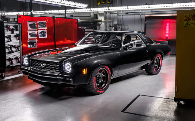 1973 Chevrolet Chevelle Laguna fitted with LT5 6.2-liter supercharged V-8 crate engine