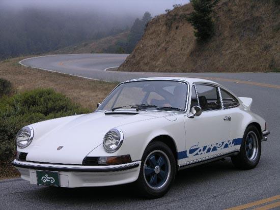 Time Machine Test Drive 1973 Porsche Carrera Rs 2 7