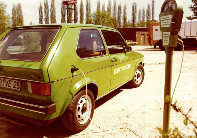 Before Volkswagen's $50 billion push, and the e-Golf, there were these VW electric cars