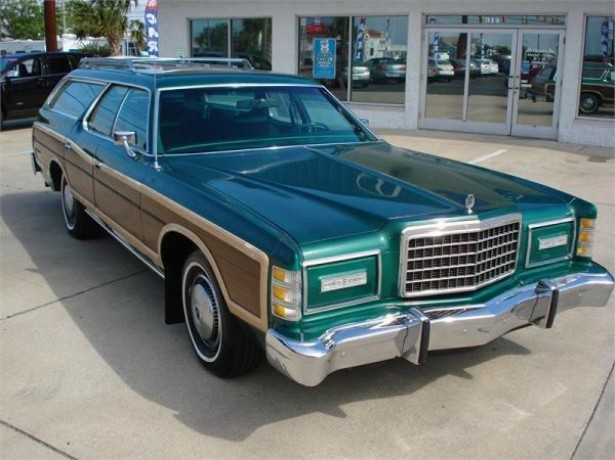 1978 Ford LTD Country Squire wagon by Flickr user That Hartford Guy