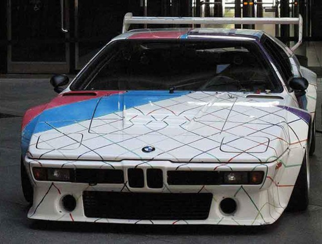 1979 BMW M1 Art Car Acquired By BMW Dealer, Staying In New York