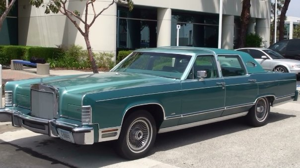 1979 Lincoln Town Car, Missoula, Montana