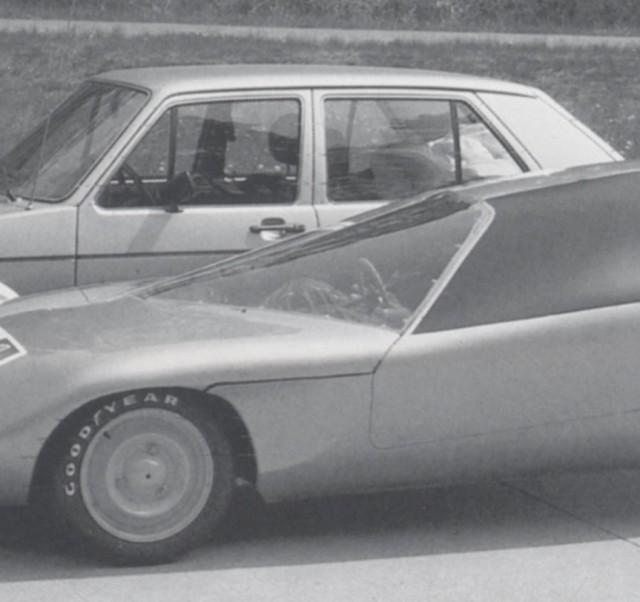 1981 Citroen economy car by Luigi Colani (Image: Colani Design)