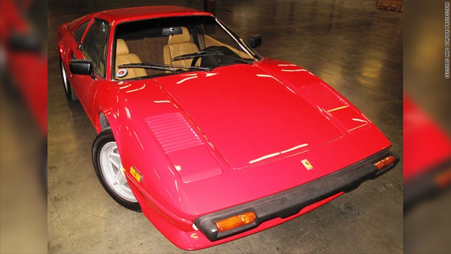 1981 Ferrari 308 GTSi recovered after 28 years