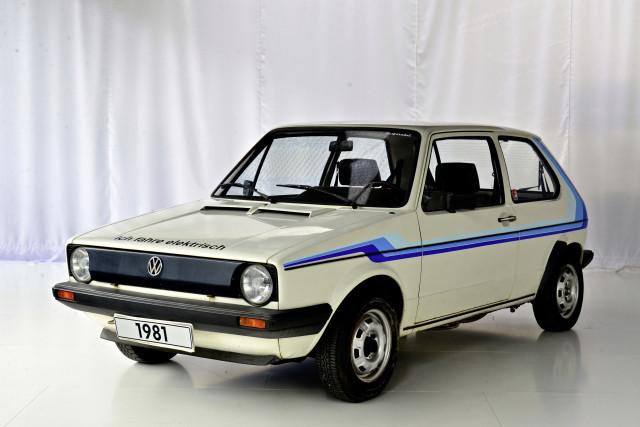 1981 Volkswagen Golf 1 CityStromer