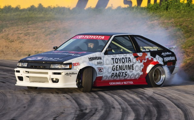 Youtube  Toyota Coroloa S Drift Car