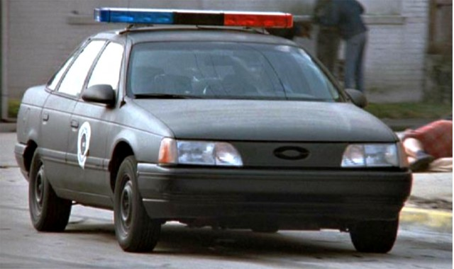 1985 Ford Taurus from Robo Cop & All-Time Favorite Police Cars markmcfarlin.com