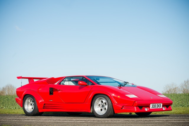 1989 Lamborghini Countach 25th Anniversary HR