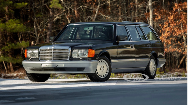 1990 Mercedes-Benz 560 TEL Estate by Caro (Photo by RM Sotheby's)