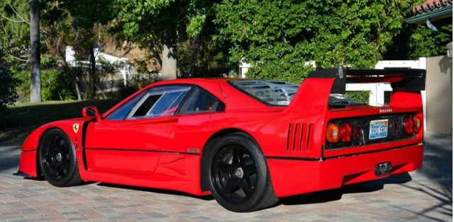 Converted Ferrari F40 Lm Mixes Racing Dreams With Street Legal Reality