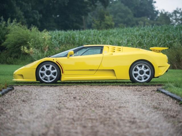 1995 Bugatti EB110 Super Sport - Image via RM Auctions