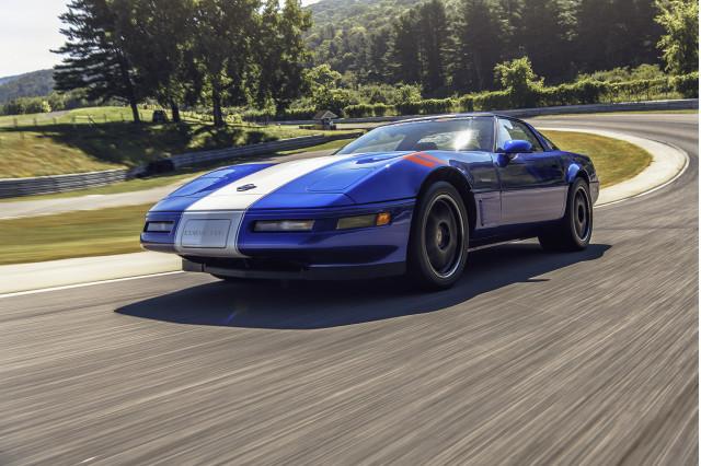 1996 Chevrolet Corvette Grand Sport, photo by DW Burnett