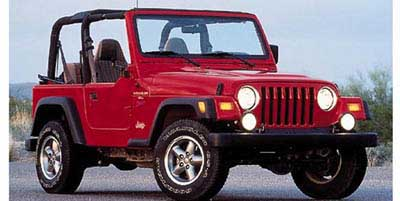 Beautiful 1997 Jeep Wrangler SE