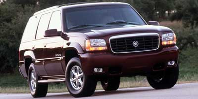 1999 cadillac escalade review ratings specs prices and photos 2000 Escalade Rear Bumper 1999 cadillac escalade