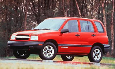 1999 Chevrolet Tracker 4-door