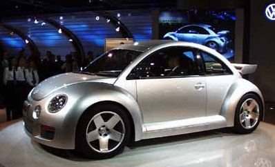 1999 concept Volkswagen Beetle