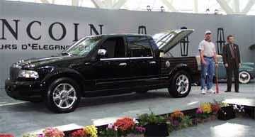 1999 Lincoln concept Blackwood