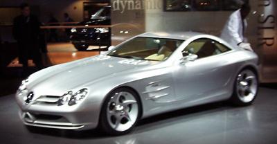 1999 Mercedes concept Vision SLR
