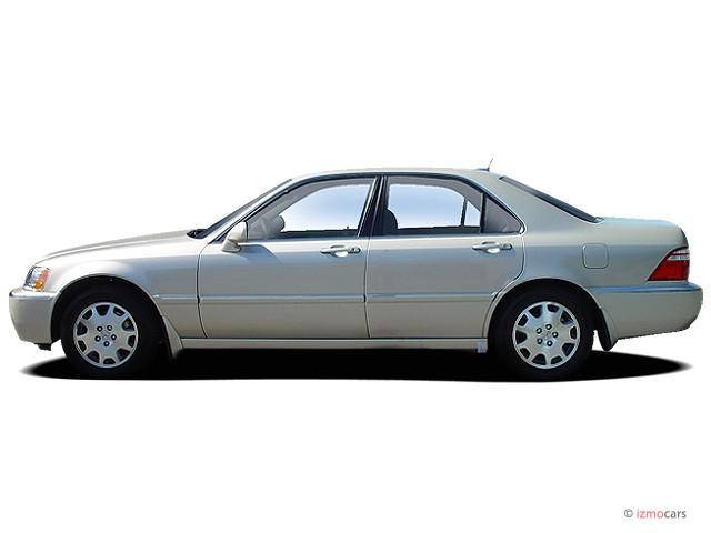 image 2004 acura rl 4 door sedan w navigation system side. Black Bedroom Furniture Sets. Home Design Ideas