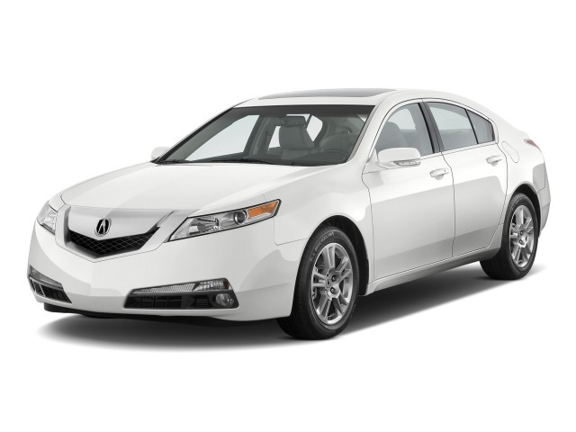 2010 Acura TL 4-door Sedan 2WD Tech Angular Front Exterior View