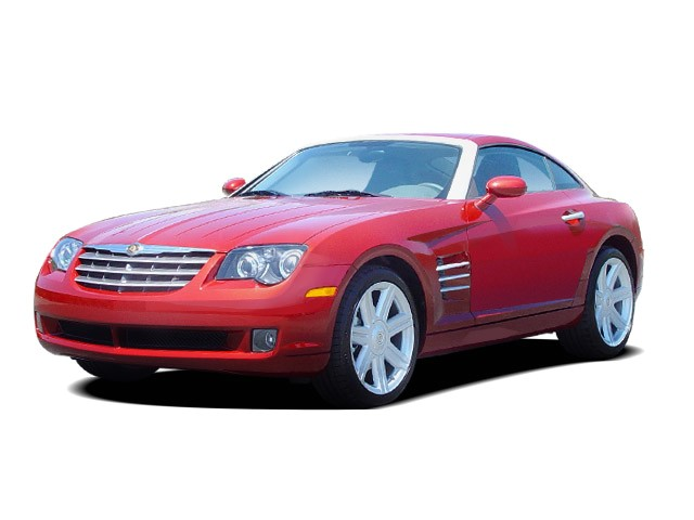 2008 Chrysler Crossfire 2 Door Coupe Limited Angular Front Exterior View