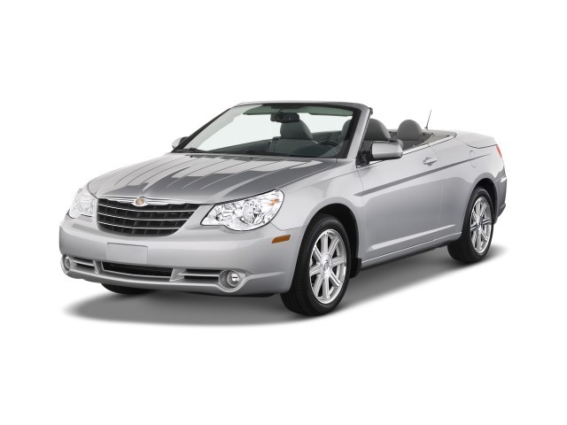 2009 Chrysler Sebring 2-door Convertible Limited Angular Front Exterior View